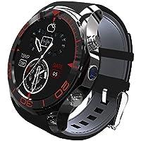 S1 Smart Watch SIM Card Bluetooth Smart Watches App Sync Phone Smartwatch Sport Pedometer WristWatch Smart Watch For Android IOS Smartphone (black)