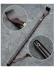 孫の手 黒檀 竹形(18032105)