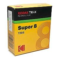 コダック スーパー8 白黒リバーサル トライ-X  7266 / 50フィート カートリッジ