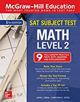 McGraw-Hill Education SAT Subject Test Math Level 2, Fifth Edition