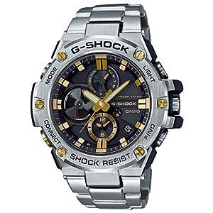 [カシオ]CASIO 腕時計 G-SHOCK ジーショック G-STEEL スマートフォンリンクモデル GST-B100D-1A9JF メンズ