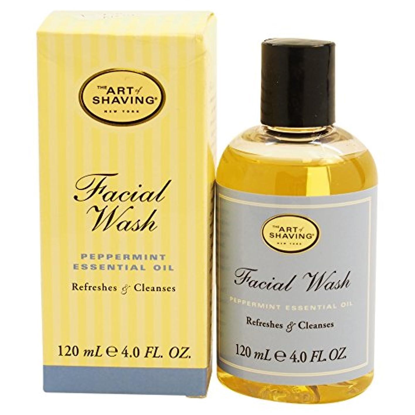 雪オペレーター外出The Art Of Shaving Facial Wash With Peppermint Essential Oil (並行輸入品) [並行輸入品]
