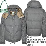 Flannel Down Sierra Jacket 9950: Gray