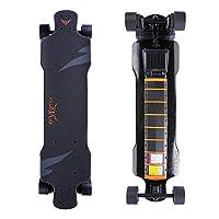 電動スケートボード 四輪 1200W*2 リモコン付き 最高な時速は40km/h 無線 遠隔操作