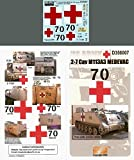 Echelon Fine Decal 1: 352–7Cav m113a3Medevac Operation Iraqi Freedom # d356007