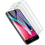 GRERLLD iPhone7 ガラスフィルム[3枚] iPhone 7/8保護フィルム液晶保護強化ガラス9H 2.5D保護フィルム付き