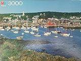 MB Magnum 3000 Piece Rockport Harbor Jigsaw Puzzle [並行輸入品] Milton Bradley