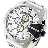 ディーゼル DIESEL メガチーフ MEGA CHIEF クロノ クオーツ メンズ 腕時計 DZ4454 ホワイト