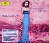 Mendelssohn: Violin Concerto Op.64; Piano Trio Op.49; Violin Sonata in F major (1838) by Anne-Sophie Mutter (2009-02-03)
