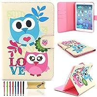 iPad Mini 4ケース、Dteck ( TM ) Cartoon Cuteパターン[傷防止]フォリオPUレザーケース[カードスロット]スマートスタンドフルボディ保護ケース付きApple iPad Mini 4 5026231