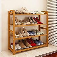 靴ラックシンプルな防塵家庭、室内リビングルームの靴の収納ラック、フロアスタンドラック(2/3/4/5/6層)