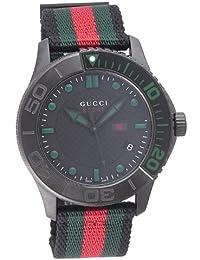 [グッチ]GUCCI 腕時計 Gタイムレス ブラック文字盤 YA126229 メンズ 【並行輸入品】