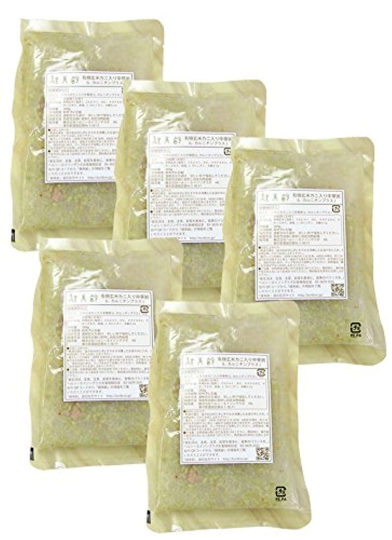 影響めまいがニンニク健美齢KA-05カニ入り中華粥(5食セット)