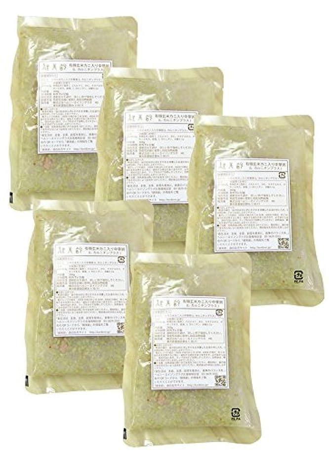 急性範囲食物健美齢KA-05カニ入り中華粥(5食セット)