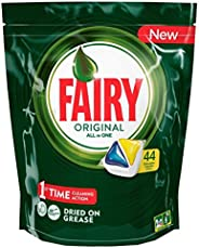 Fairy Fairy All in One Lemon Dishwasher Tablets 44 Capsules ,