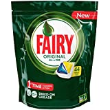 Fairy All in One Lemon Dishwasher Tablets, 44 Capsules