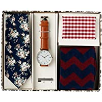 Van Heusen Men's Watch Gift Pack, Red, One Size