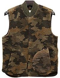 (ダブルアールエル) RRL キャモ フリース ベスト メンズ Camo Fleece Vest 並行輸入品 [並行輸入品]