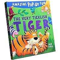 blesiya Reading for preschool -3d Pop Up Book – ヘルプキッズ幼児動物認知( Tiger )