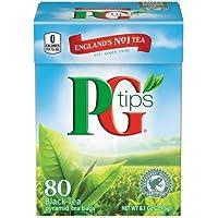 紅茶ピージーチップス ピラミッド型ティーバッグ  ×80袋 [正規輸入品]
