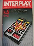 INTERPLAY A CLASSIC GAME OF SKILL FOF TWO PLAYERS,AGE 8 TO ADULT BE THE FIRST TO MAKE ONE OF THREE DIFFERENT SYMMETRICAL 5 IN A ROW FORMATIONS WITH PIECES OF YOUR COLOUR IN A CONSECUTIVE STRAIGHT LINE ON ANY RANK, FILE, OR DIAGONAL by Interplay [並行輸入品]
