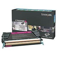 Lexmark c746a1mgトナー、7000page-yield、マゼンタ