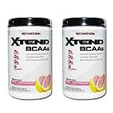 [2個セット]エクステンド BCAAs Lグルタミン シトルリン配合 ピンクレモネード 30回分[海外直送品]
