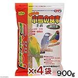 エクセル おいしい小鳥の食事 皮付き 900g 国産 鳥 フード えさ 餌 4袋入り