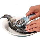 イッピー キッチン調理器具鱗屑を掻く魚のデバイス創造的掻爬のスケールブラシデバイス