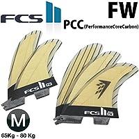 ショートボード用フィン FCS2 FIN エフシーエス2フィン FW PCC Tri-Quad MEDIUM ファイヤーワイヤー(FireWire) パフォーマンスコア 5フィン トライフィン クアッドフィン