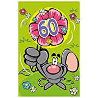 "Susyカード11448461 Greetings / 3d Flower"" 60 "" Greeting Card"