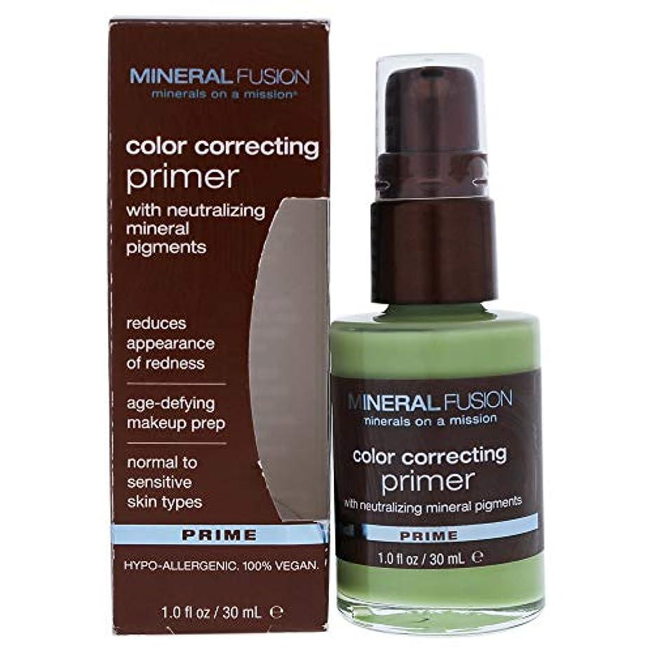 予測子キャベツ高層ビルMineral Fusion, Color Correcting Primer, Prime, 1.0 fl oz (30 ml)