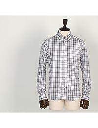 SWEEP!! スウィープ!! メンズ コットン チェック柄 ボタンダウンシャツ Traditional Check (ホワイト)