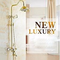 wAWzjバスルームシャワーセットすべて銅Shower Flower Sprinkler