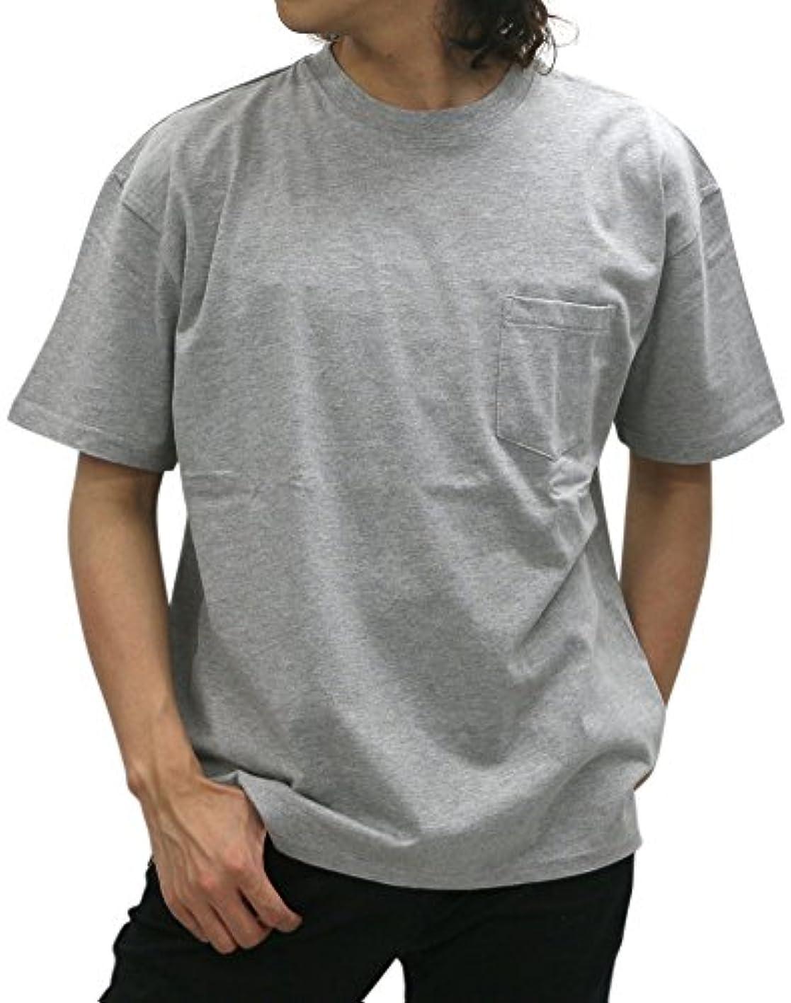 シプリー日付付き帰する[ボーメール] Tシャツ 無地 ポケット 付き メンズ