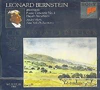 Piano Concerto No.2, Haydn Variations: Watts(P), Bernstein / Nypo