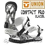 UNION ユニオン CONTACT PRO GLACIER 163054 スノーボード バインディング ユニ GLACIER/M