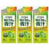 伊藤園 毎日1杯の青汁 さわやかフルーツミックス (紙パック) 200ml×3本