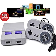 The latest (sales one day! Christmas gift) mini classic SFC Game Console Built-in 400 Game Entertainment System Universal Children's Game Console