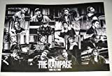 特典ポスターTHE RAMPAGE from EXILE TRIBE 100degrees