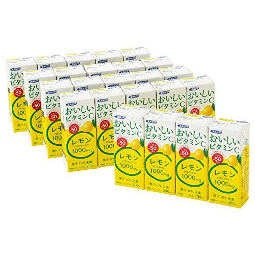 おいしいビタミンCレモン 200ml×24本 紙パック