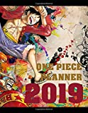 One Piece Planner 2019: Anime Edition Planner 2019, 8.5 x 11, Full Calendar with 156 pages