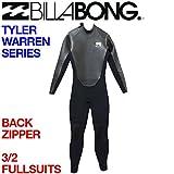 BILLABONG ビラボン 3/2FULLSUITS メンズウェットスーツ フルスーツ 3x2mm BACK ZIP WETSUIT バックジップ TylerWarrenSeries 0JBK L