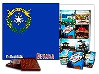 """DA CHOCOLATE キャンディ スーベニア """"ネバダ"""" NEVADA チョコレートセット 5×5一箱 (Flag)"""
