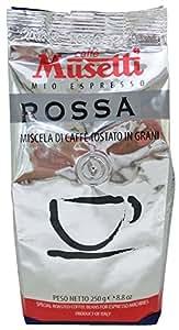 Musetti(ムセッティー) ロッサ コーヒー 250g(豆)