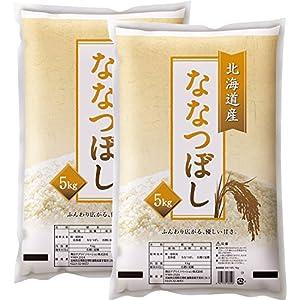 [訳あり] 白米 北海道産 ななつぼし 10kg(5kg×2袋) 平成28年産