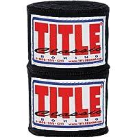 Titleクラシック織りHandwraps、ブラック