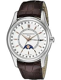 [フレデリックコンスタント] Frederique Constant 腕時計 Men's Index Brown Strap Moon Phase Watch スイス製自動巻 FC-330V6B6 メンズ 【並行輸入品】