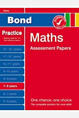 Bond Maths Assessment Papers 7-8 years Paperback