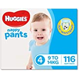 Huggies Ultra Dry Nappy Pants, Size 4 - Size 6